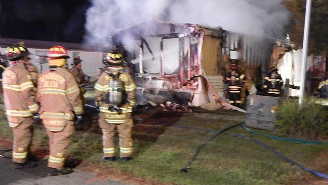 A fire on Lawrence Lane in Angola Crest II near Rehoboth, Delaware  on Thursday, Aug. 10, 2017 resulted in a fatality.