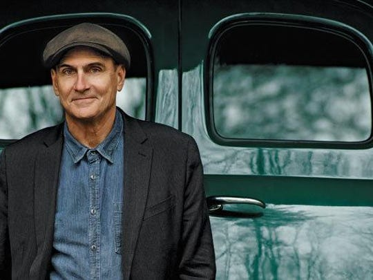 James Taylor stops Tuesday, July 12 at the Save Mart Center on the campus of Fresno State.