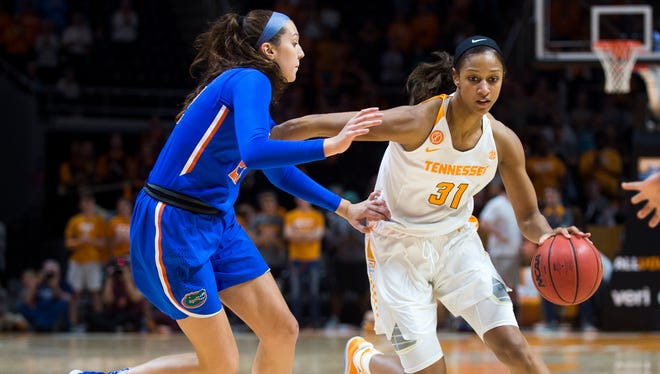 Tennessee's Jaime Nared (31) was named second team All-SEC by the league coaches.