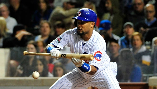 Emilio Bonifacio hit .279 with 18 RBI and 14 steals in 69 games for the Cubs this season.