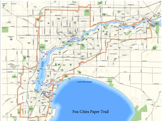 The Fox Cities Paper Trail links 11 communities and more than 20 parks.