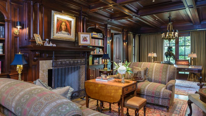 """A North Dallas mansion that was the set for the elegant family home of the Ewing clan on the mega-hit television series """"Dallas"""" is for sale for $13 million."""