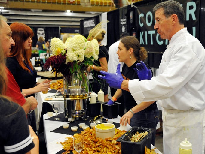 Tasty treats at the Asheville Wine and Food Festival
