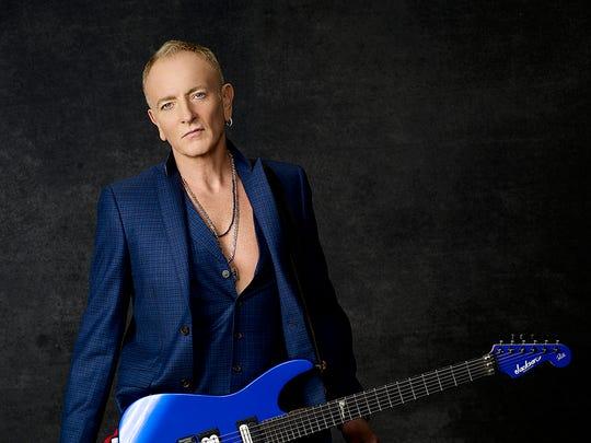 Longtime Def Leppard guitarist Phil Collen.