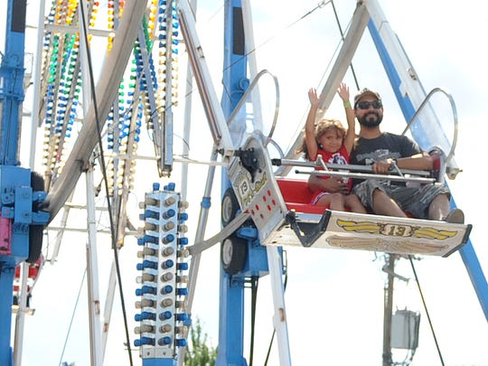 The Richland County Fair returns Aug. 6 and runs through Aug. 12, 2017.