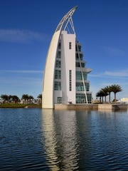 Exploration Tower at Port Canaveral opened to the public