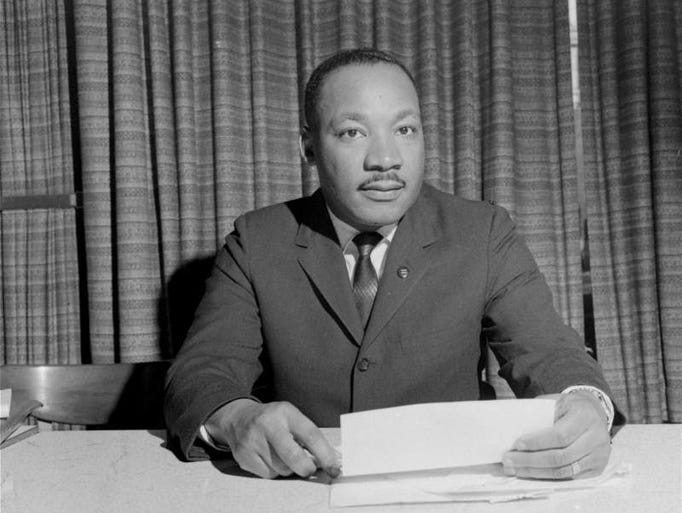 "a look at martin luther king jr and the mass media Dr martin luther king jr giving his i have a dream speech at the  ""it's galling  to look at the level of disregard that was in the media at the."