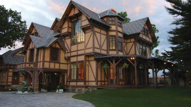 The J.N.A Griswold House is part of the Newport Art Museum.