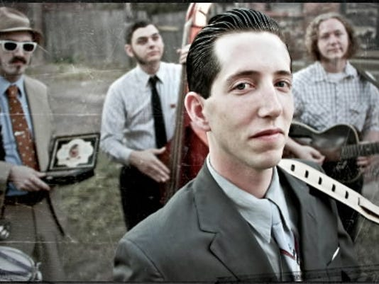 Pokey LaFarge will perform a CapLive concert June 27 at York s Strand Capitol Performing Arts Center with the band he s been with since 2009   The South Side Three. His new album is about half finished, LaFarge said, and he hopes to release it in Spring 2013.