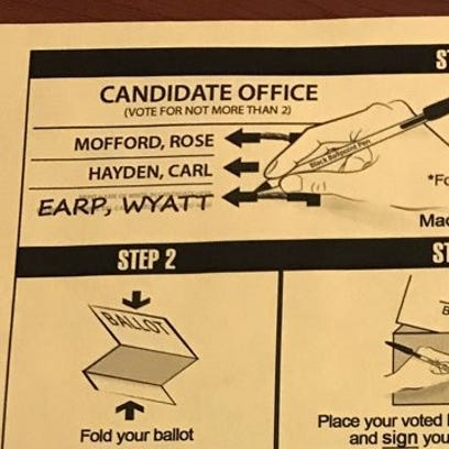 Congressional District 8 voters, ignore your ballot's instructions – don't vote for 2 people
