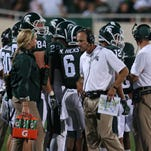 "Staten: Spartans offensive line must ""impose our will"" on EMU"