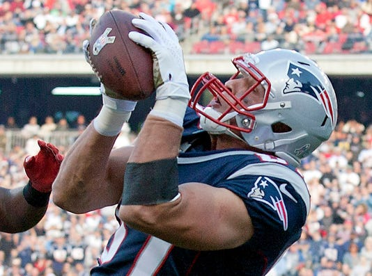 Patriots TE Rob Gronkowski likely to play Sunday vs. Saints