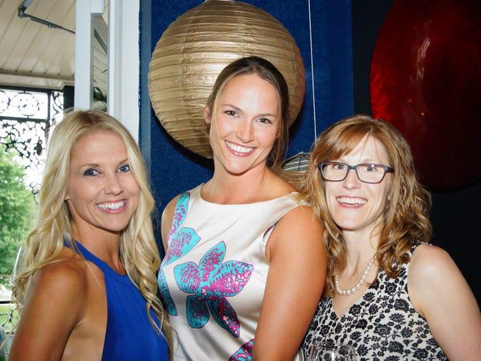 Jessica Murray, Mary Hogan and Theresa Owens