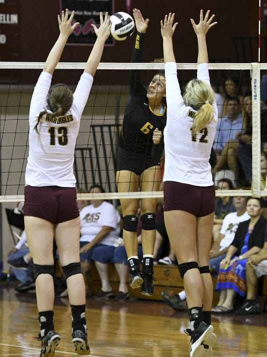 High School Volleyball: Merritt Island at Astronaut