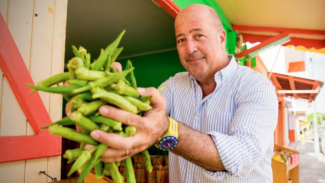 """Andrew Zimmern, host of """"Bizarre Foods,"""" the longtime hit show on the Travel Channel, is visiting Kwok's Bistro in downtown Reno in late July 2018 for his new show, """"The Zimmern List."""""""