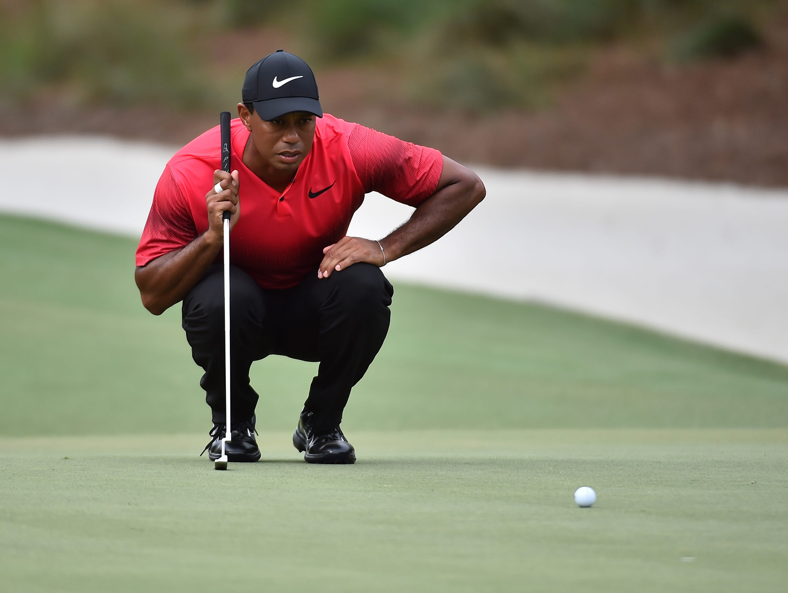 tiger woods takes big step forward with players