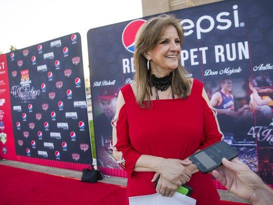 Paola Boivin, former Arizona Republic sports columnist,