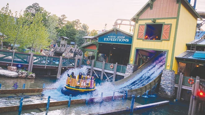 With great anticipation of Silver Dollar City's 2020 promise to present The Tallest Drop on a Water Raft Ride in the Western Hemisphere, Mystic River Falls is now open.