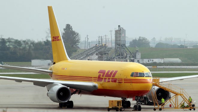 DHL is negotiating a 30-year lease on its hub at the Cincinnati/Northern Kentucky International Airport.