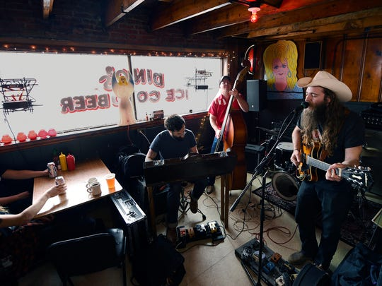 Sunday brunch at Dino's features live music from the band Cotton Clifton and the Pickers on Feb. 21.