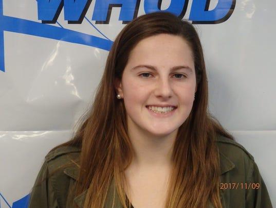 Madison Hartigan, Pelham swimming, Con Edison Athlete of the Week