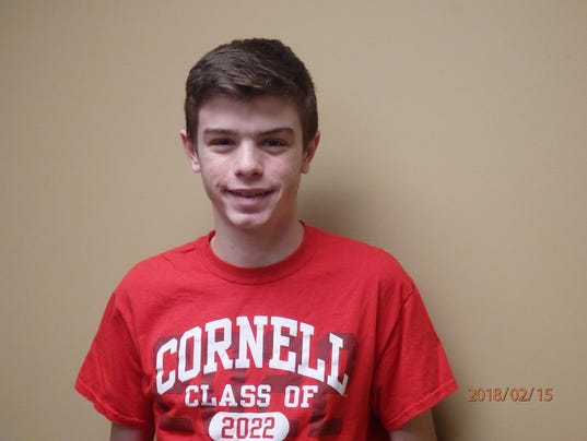 Matthew Fusco, Somers track and field, Con Edison Athlete of the Week