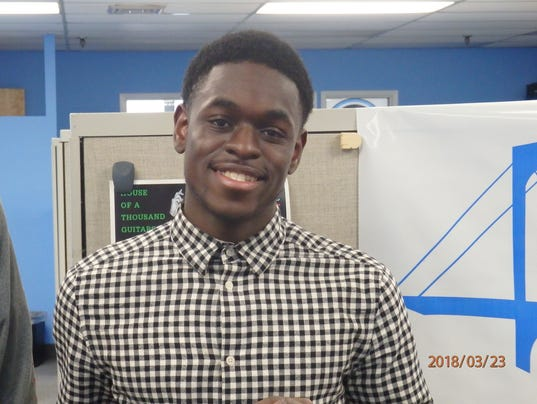 Josias Luctamer, Panas track and field, Con Edison Athlete of the Week