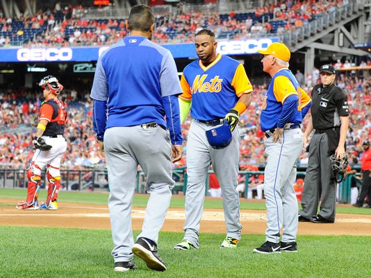 new style 6ebfd 27793 Mets put Yoenis Cespedes on DL with hamstring injury
