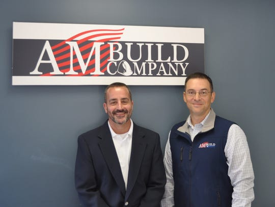 Mark DeChick and Andrew Claus of AmBuild Company.