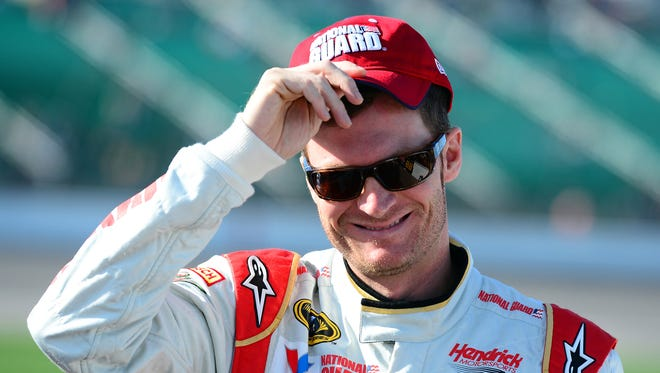 Dale Earnhardt Jr. uses eBay to build his collection of vintage stock car magazines and racing memorabilia.