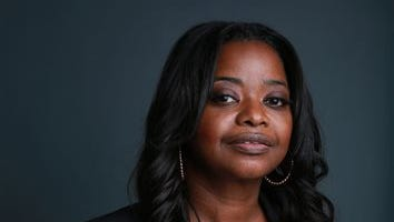 """Academy Award-winning actress Octavia Spencer poses for a portrait, on Mon., Sept. 15, 2014, in New York. Spencer stars in the new Fox series """"Red Band Society"""" premiering Wednesday, Sept. 17 at 9 p.m. ET/PT."""