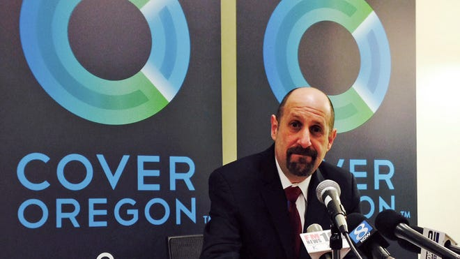 Bruce Goldberg resigned as executive director of Cover Oregon in March.