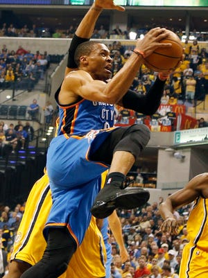 Russell Westbrook scored a career-high 54 points.