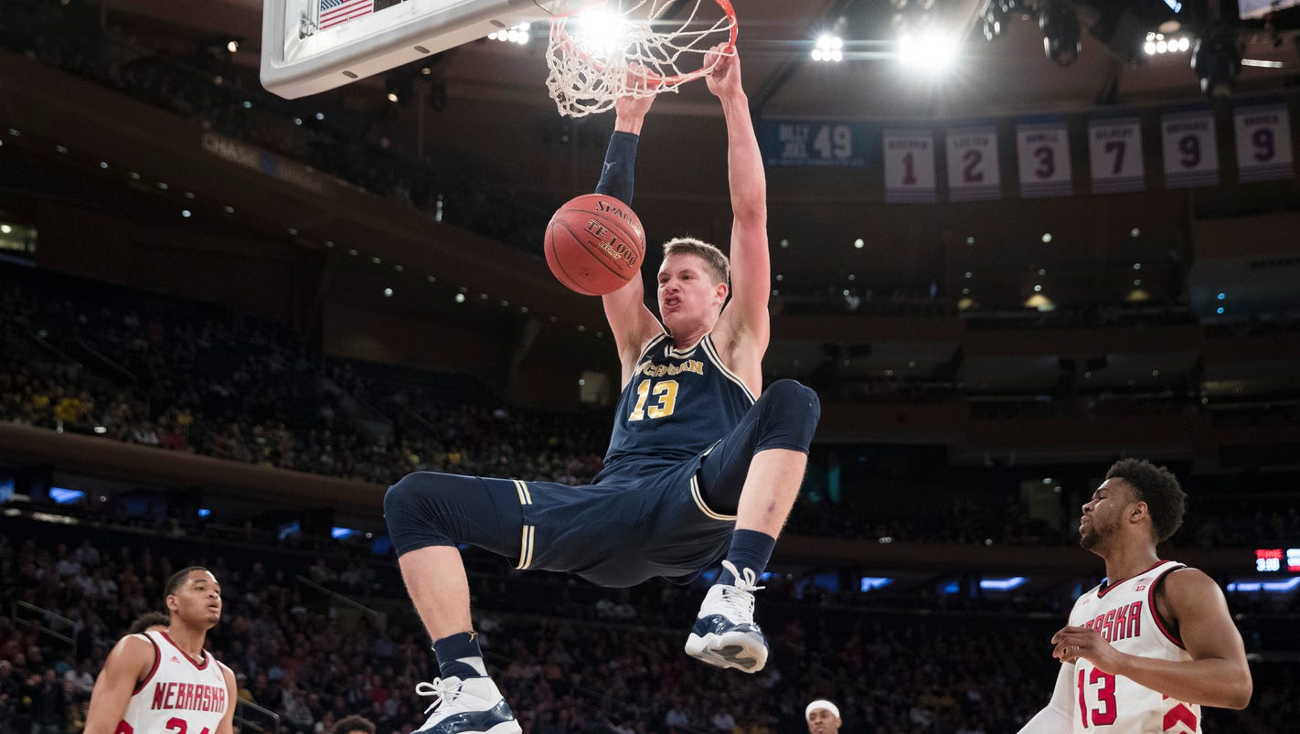 Book the rematch! Michigan cruises, meets MSU in Big Ten semifinals