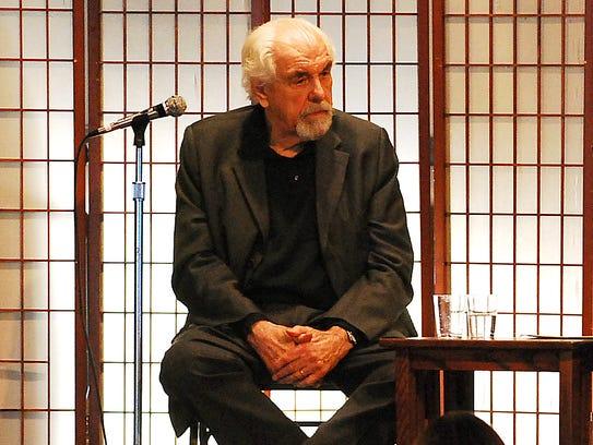 Louis Zorich shown in 2010.