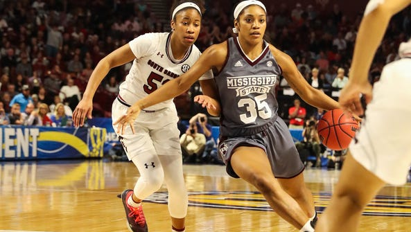 Victoria Vivians leads Mississippi State  into the
