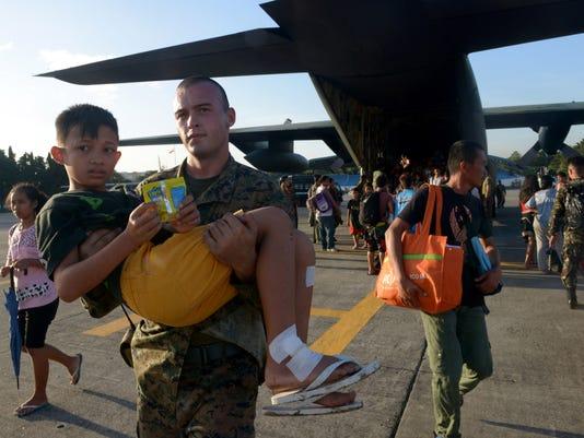 Marines in Philippines
