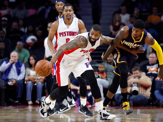 NBA: Preseason-Indiana Pacers at Detroit Pistons