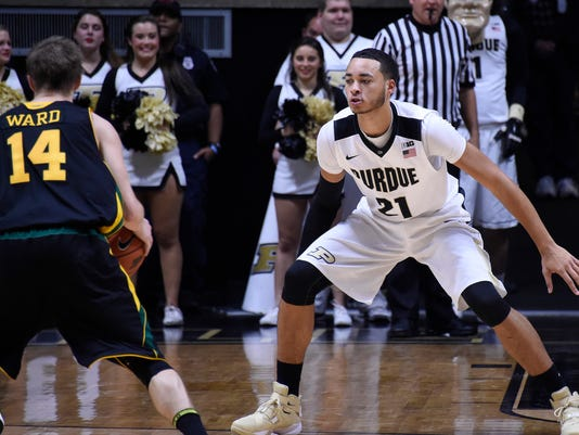 NCAA Basketball: Vermont at Purdue