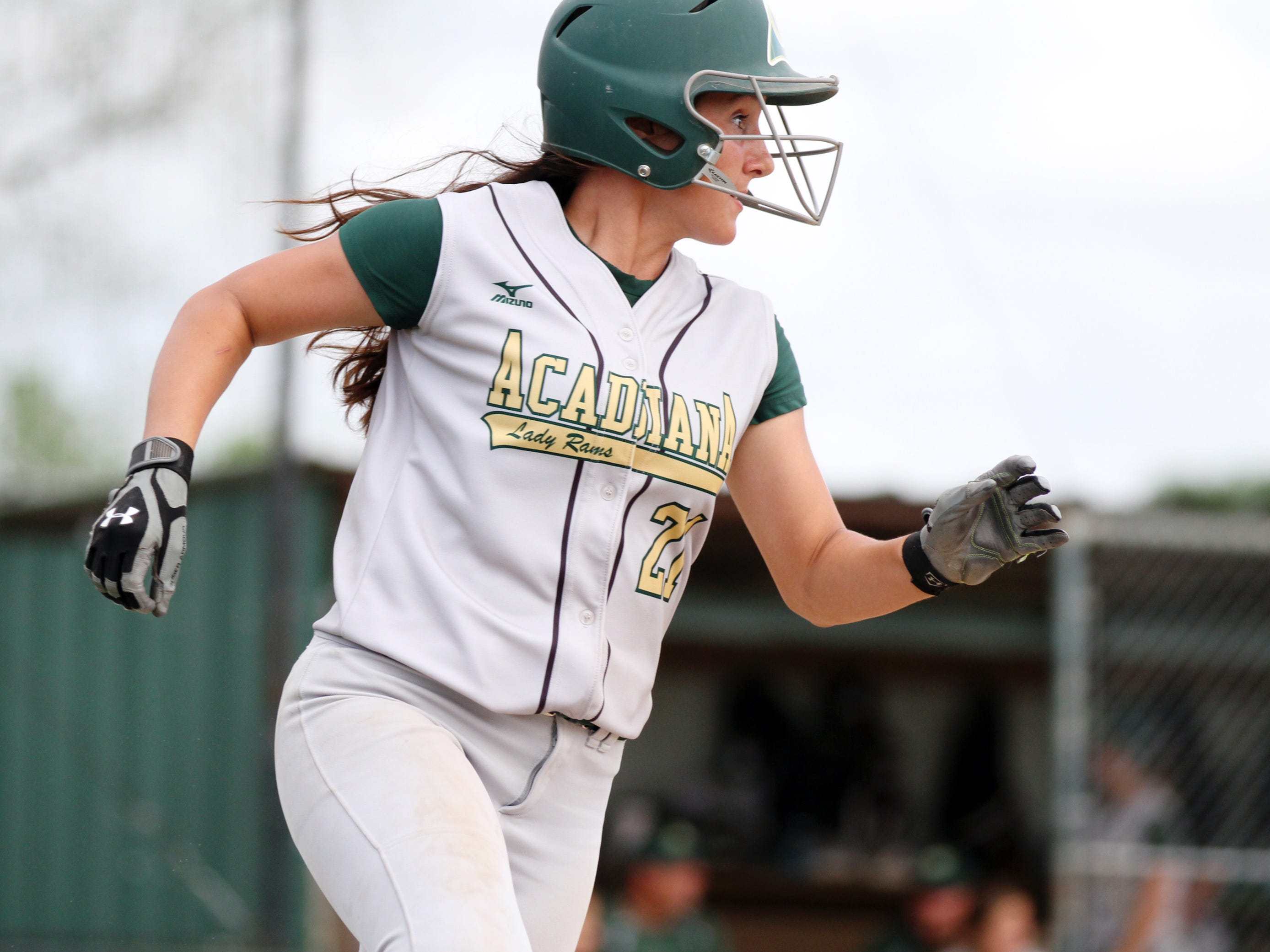 Acadiana High's Kennedi Smith and the Lady Rams ended a 20-year playoff drought Thursday by earning a No. 27 seed in the Class 5A playoff bracket.