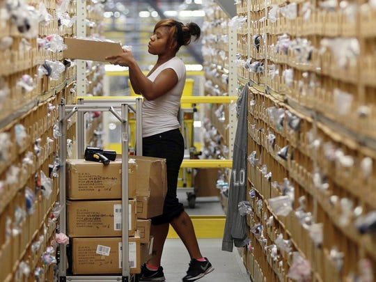 Amazon has a fulfillment center in Hebron, and plans