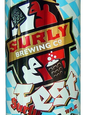 SurlyFest Lager, from Surly Brewing Co. in Brooklyn Center, Minn., is 6 percent ABV.