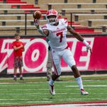 UL's Jacquet gets a look on both sides in spring game