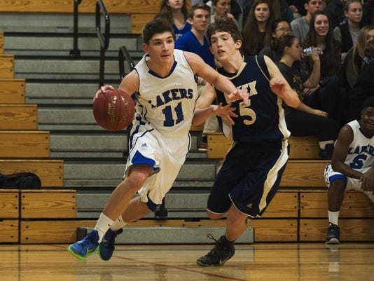 Essex vs. Colchester Boys Basketball 12/15/15