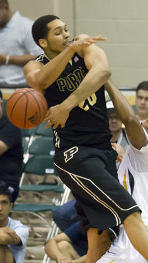 Purdue showed it can be dominant even when A.J. Hammons is not.