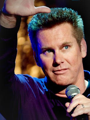 Brian Regan performs on New Year's Eve at Comerica Theatre in downtown Phoenix.