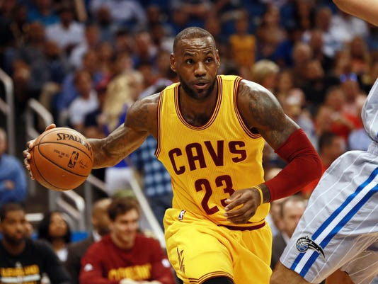 USP NBA: CLEVELAND CAVALIERS AT ORLANDO MAGIC S BKN USA FL