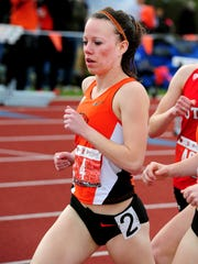 OSU senior Morgan Anderson of Silverton High School was one of the most accomplished distance runners in the Sullivan era.