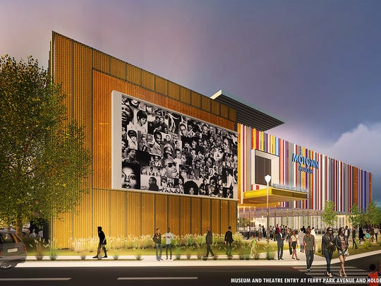 This rendering shows the  $50-million expansion of the Motown Museum that is being planned in Detroit. The museum is where Motown Records changed the music industry forever.