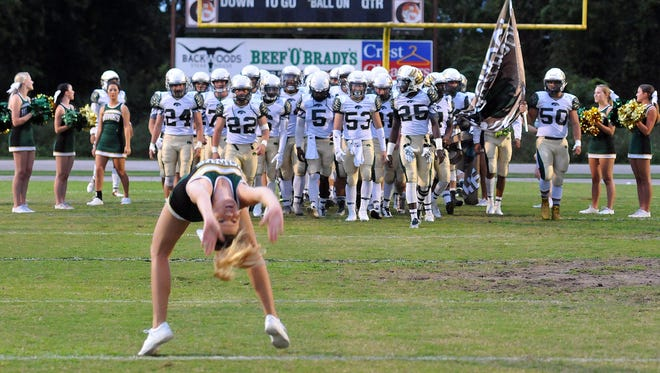 Viera High School visited Melbourne High on Friday night.